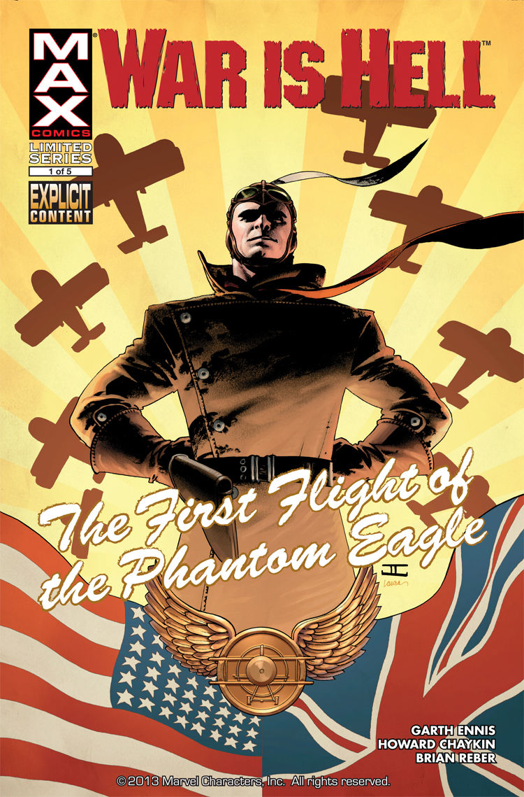 War is Hell: The First Flight of the Phantom Eagle #1 cover