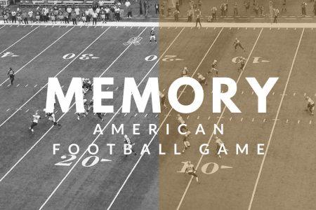 Memory: An Englishman Watching A Live American Football Game