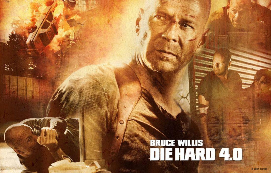 Die Hard 4.0 film poster