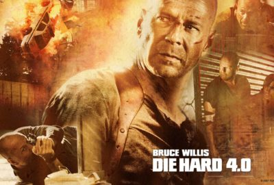Die Hard 4.0 film poster