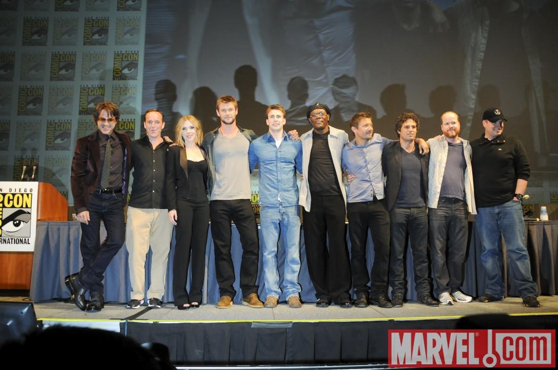Avengers cast announced at San Diego Comic-Con 2010