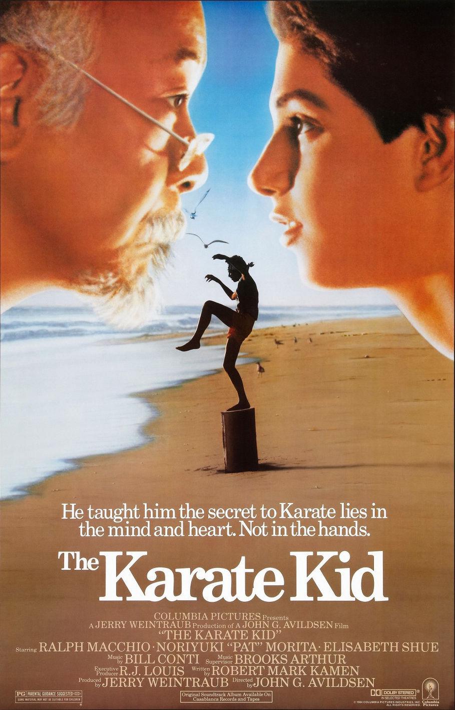 The Karate Kid (1984) movie poster