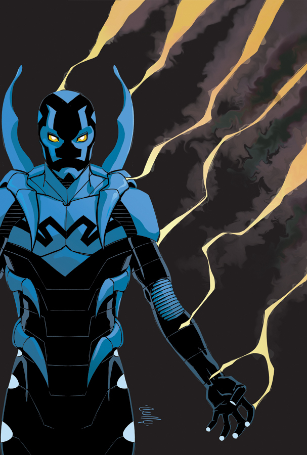 Blue Beetle: Shell Shocked cover