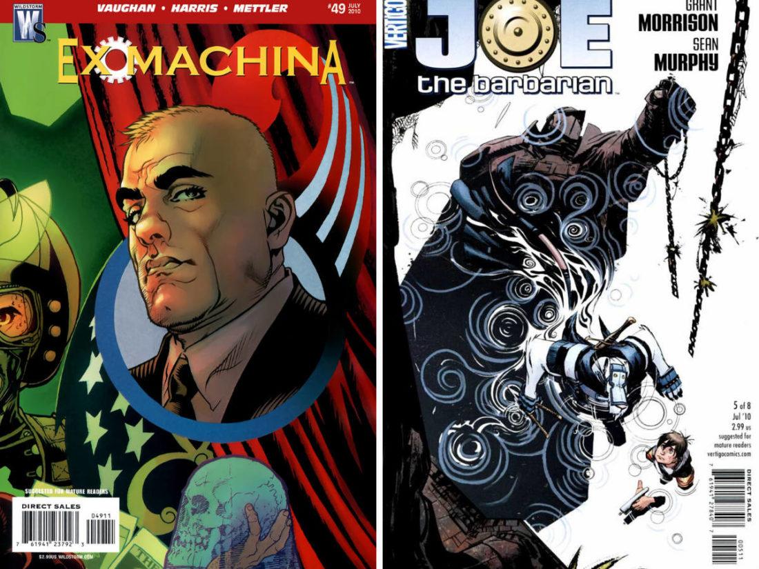 Comics Bought 20 May 2010