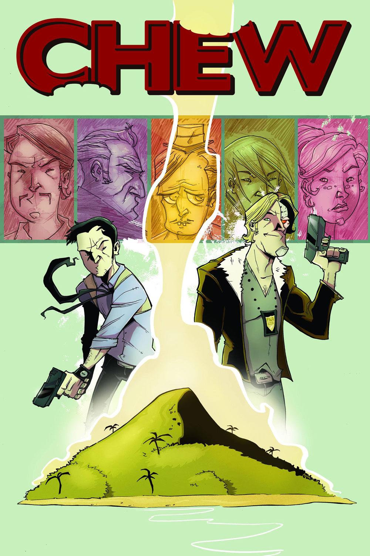 Chew volume 2 cover