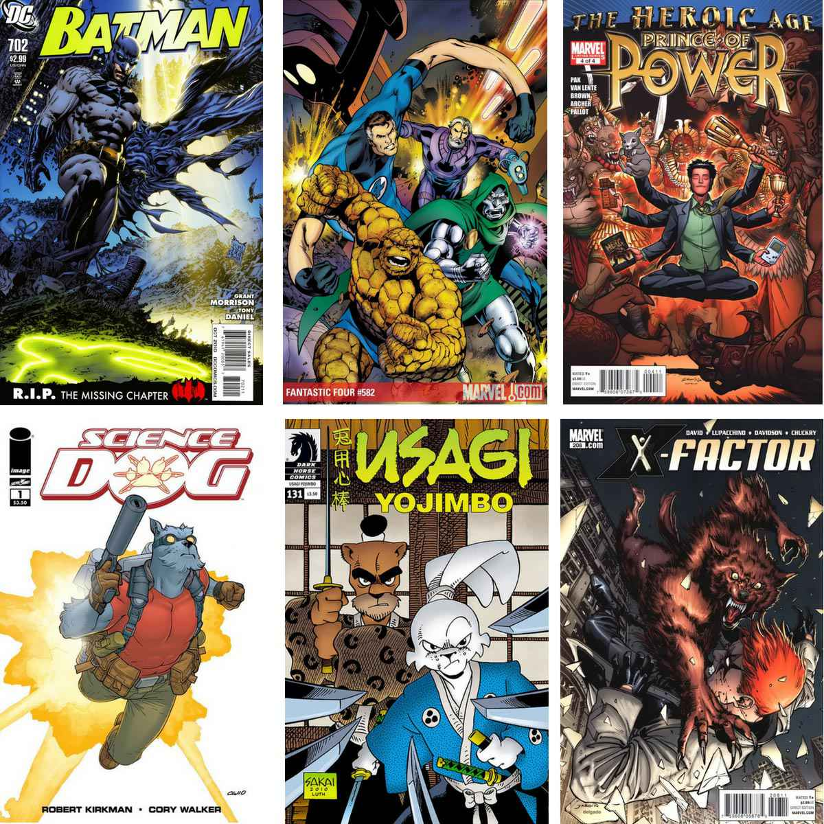 You are currently viewing Comics I Bought 26 August 2010