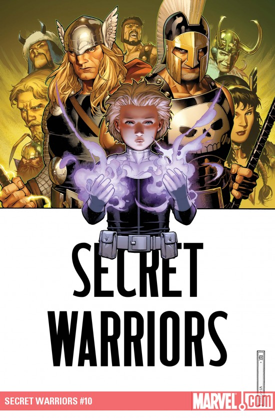 Secret Warriors #10 cover