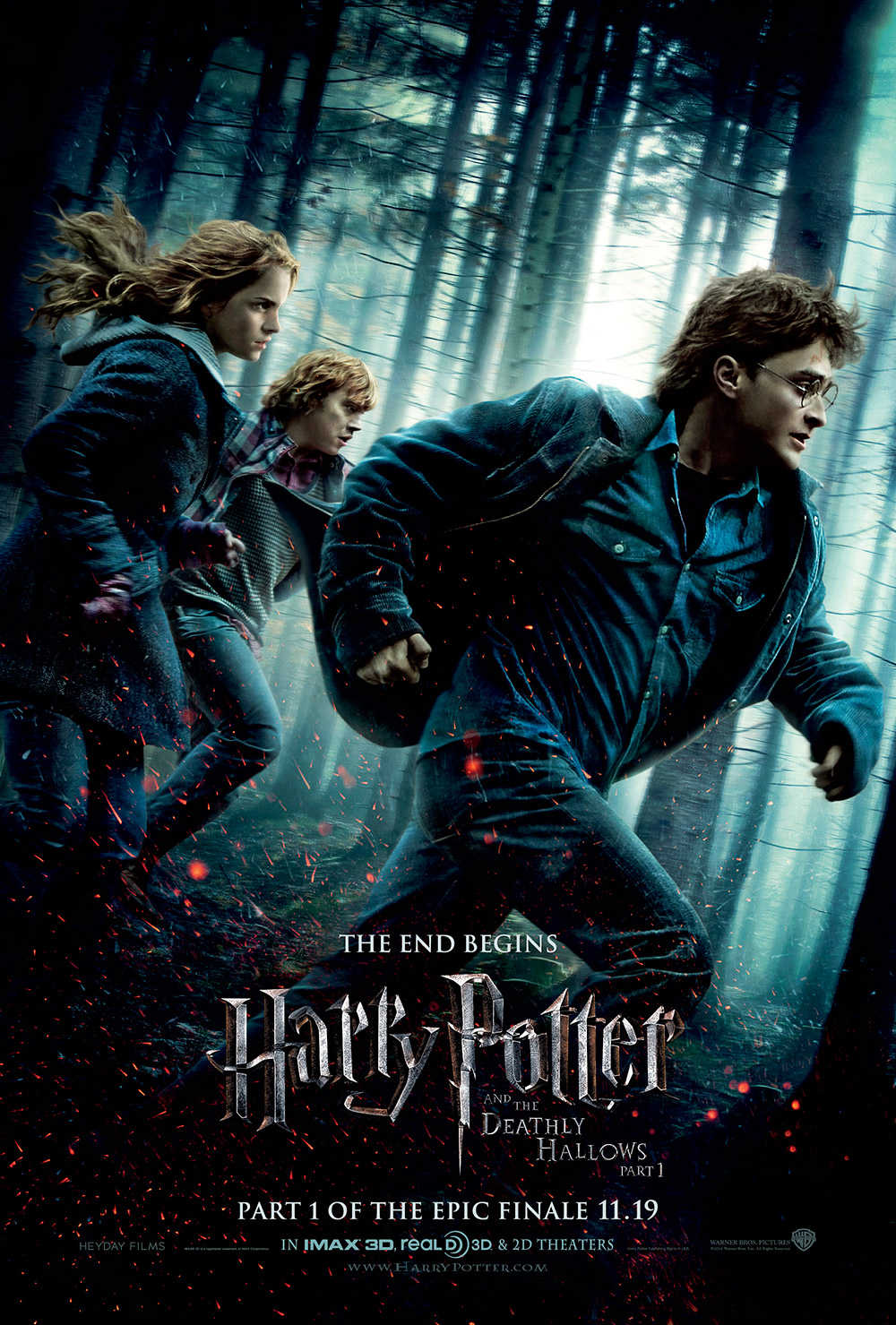 You are currently viewing Notes On A Film: Harry Potter And The Deathly Hallows Part 1