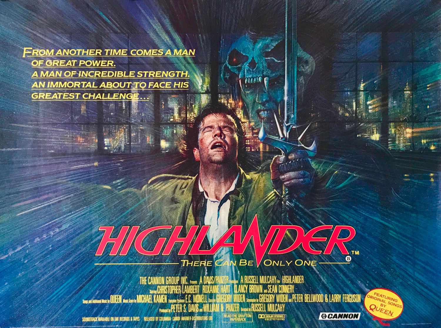 You are currently viewing DVD Reminiscing: Highlander