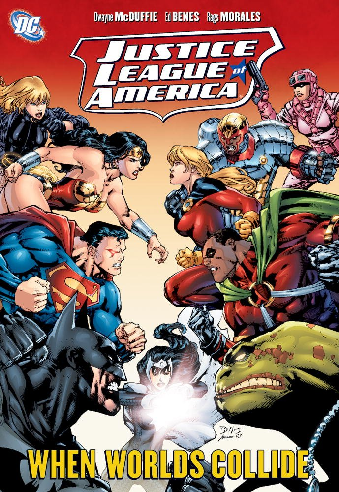 From A Library – Justice League Of America: When Worlds Collide