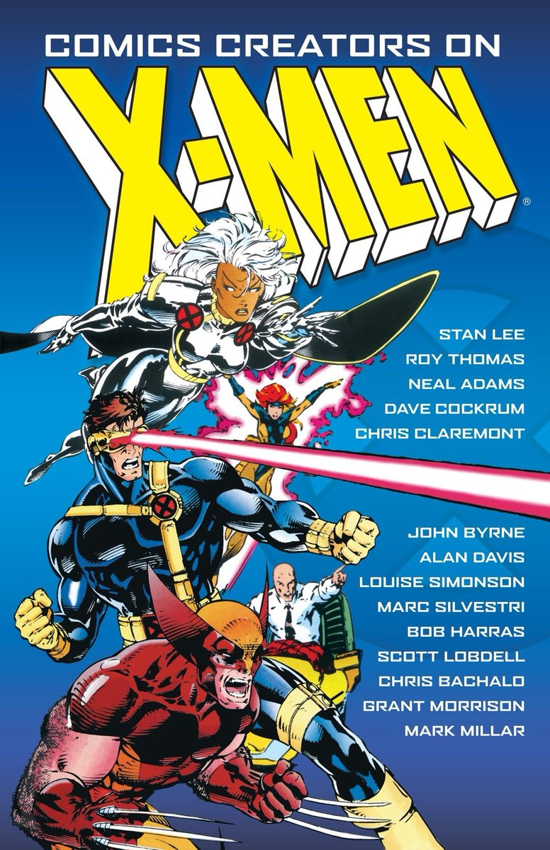 Comics Creators on X-Men cover