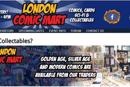 My London Comic Book Mart Experience