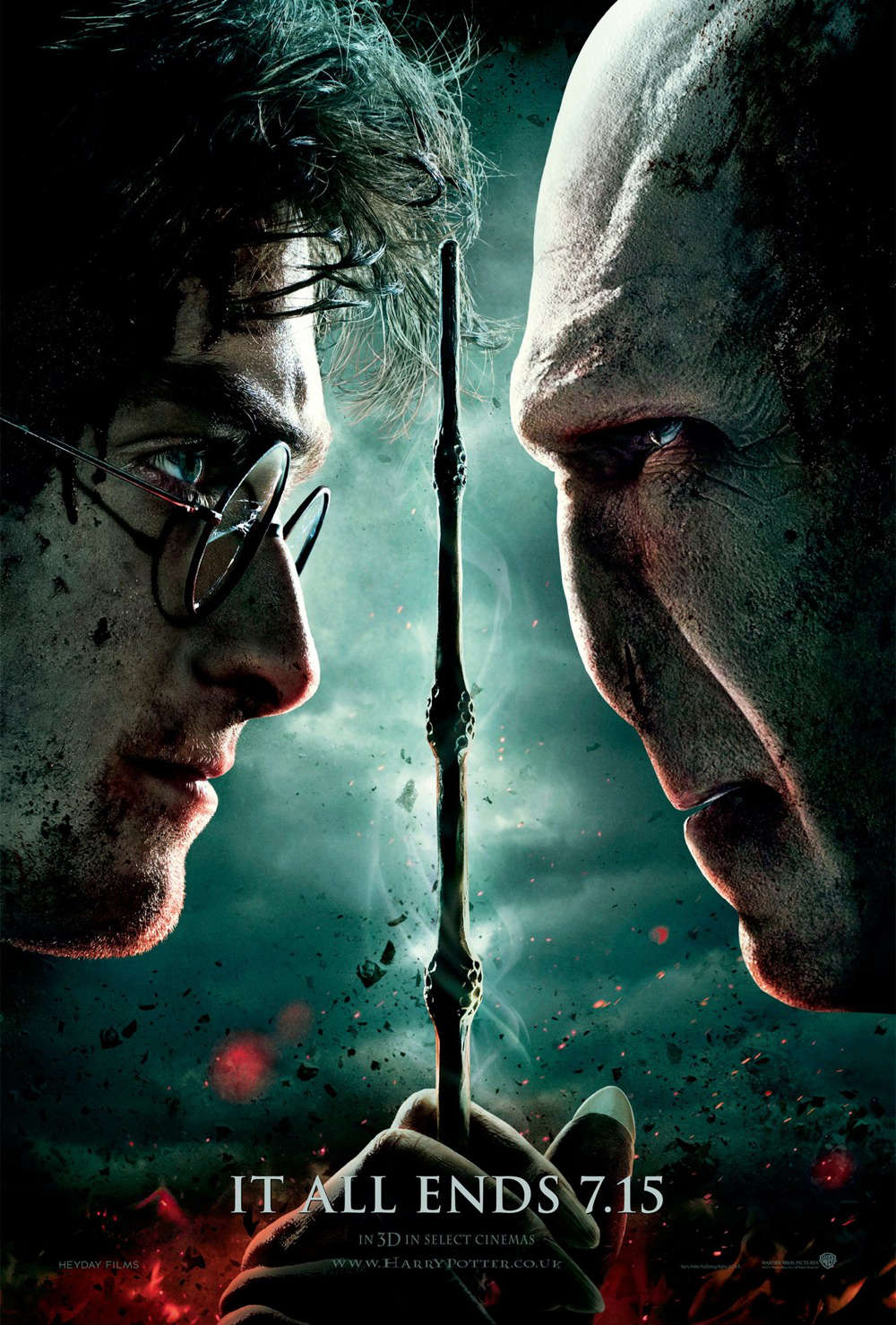 Read more about the article Notes On A Film: Harry Potter And The Deathly Hallows Part 2