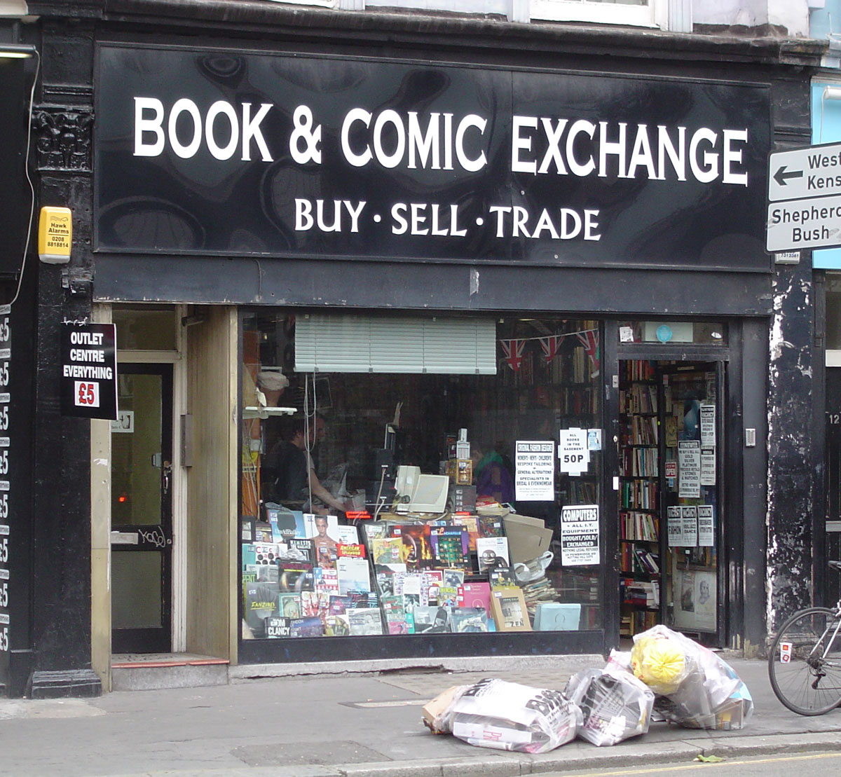 Comic Book Shop (Sort Of): Book & Comic Exchange