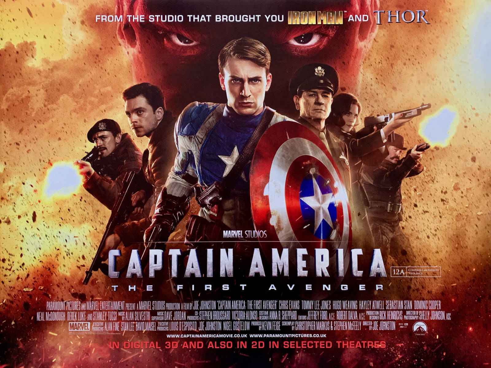 Read more about the article Notes On A Film – Captain America: The First Avenger