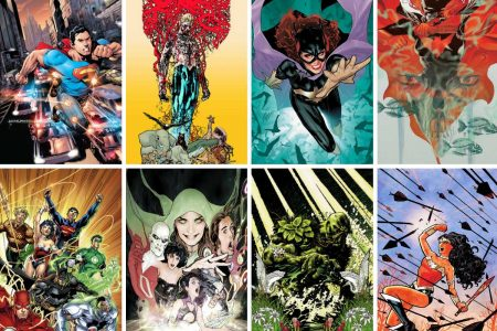Selecting From The 52 New DC Titles