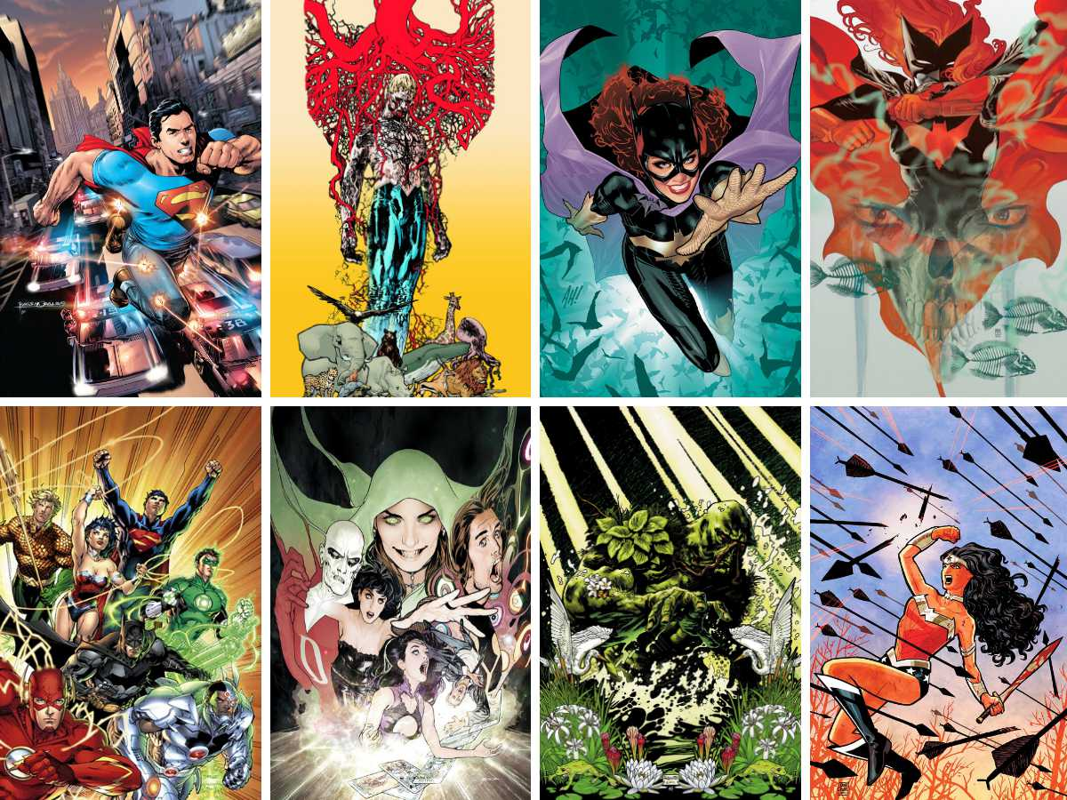 You are currently viewing Selecting From The 52 New DC Titles