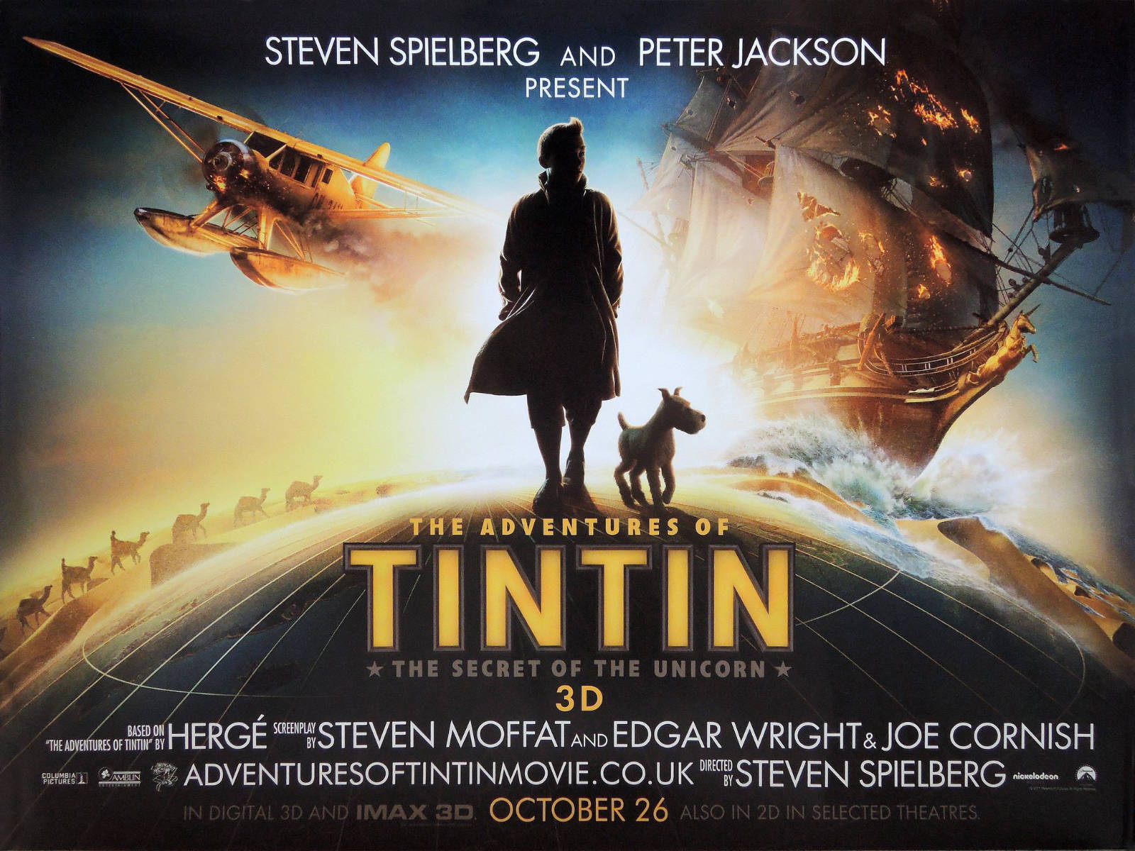 Notes On A Film: The Adventures of Tintin