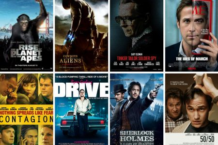 Films seen in the cinema in the second half of 2011