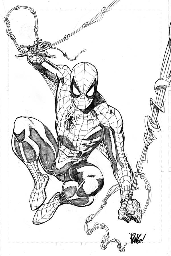 Spider-Man by Mike Wieringo