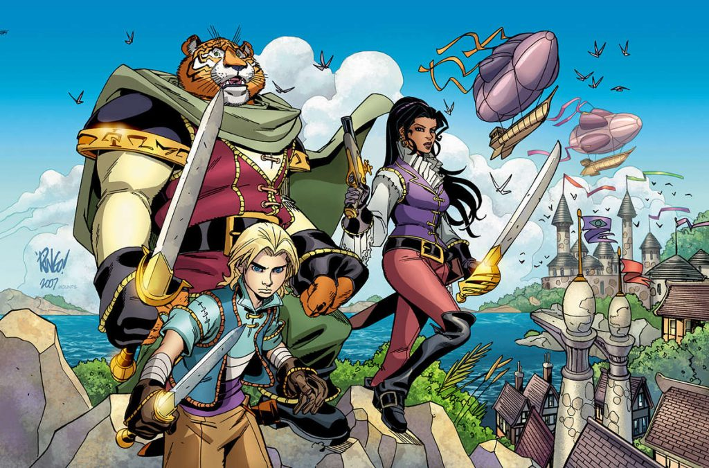 Tellos Hardcover by Mike Wieringo