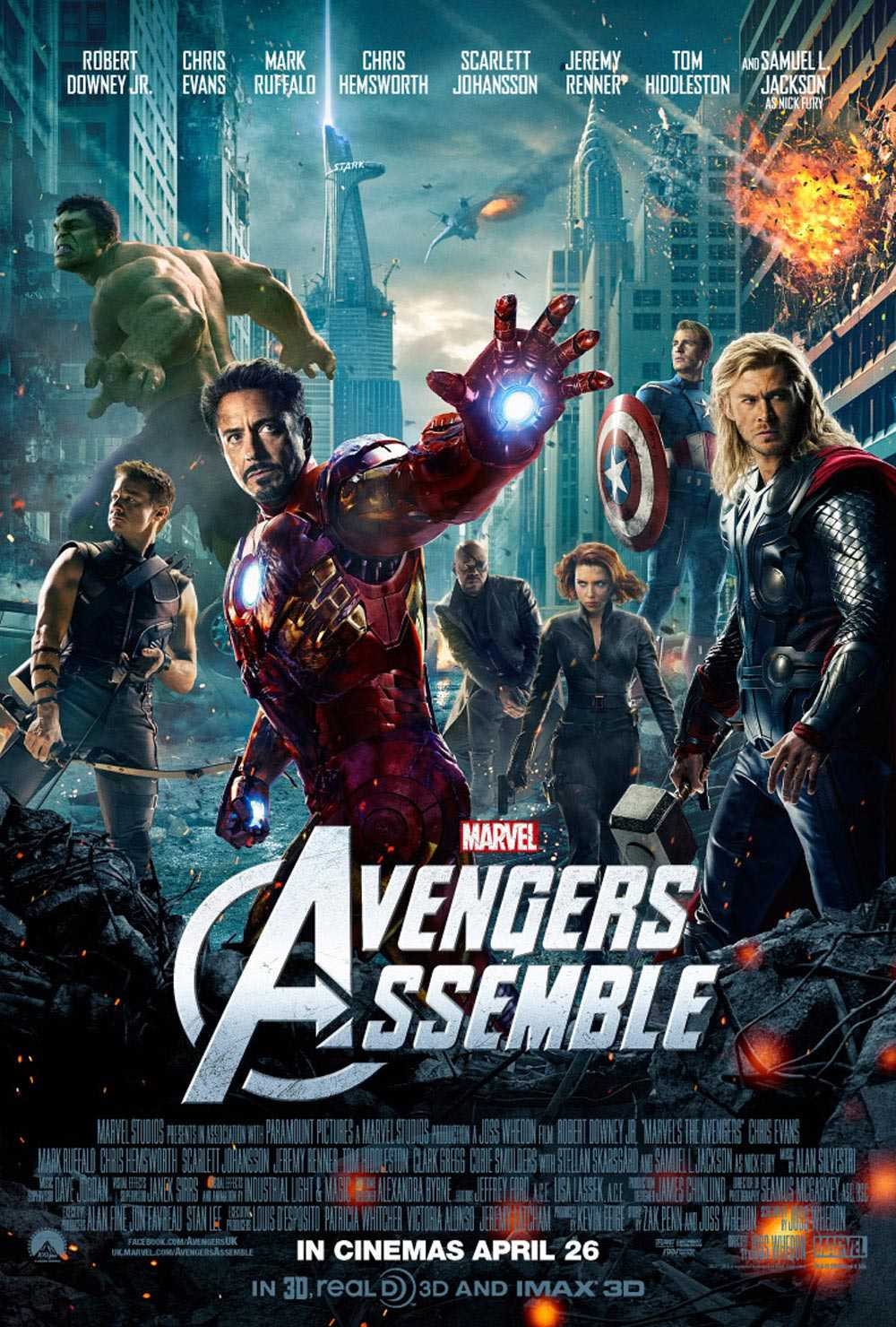 Read more about the article Notes On A Film: The Avengers (aka Avengers Assemble)