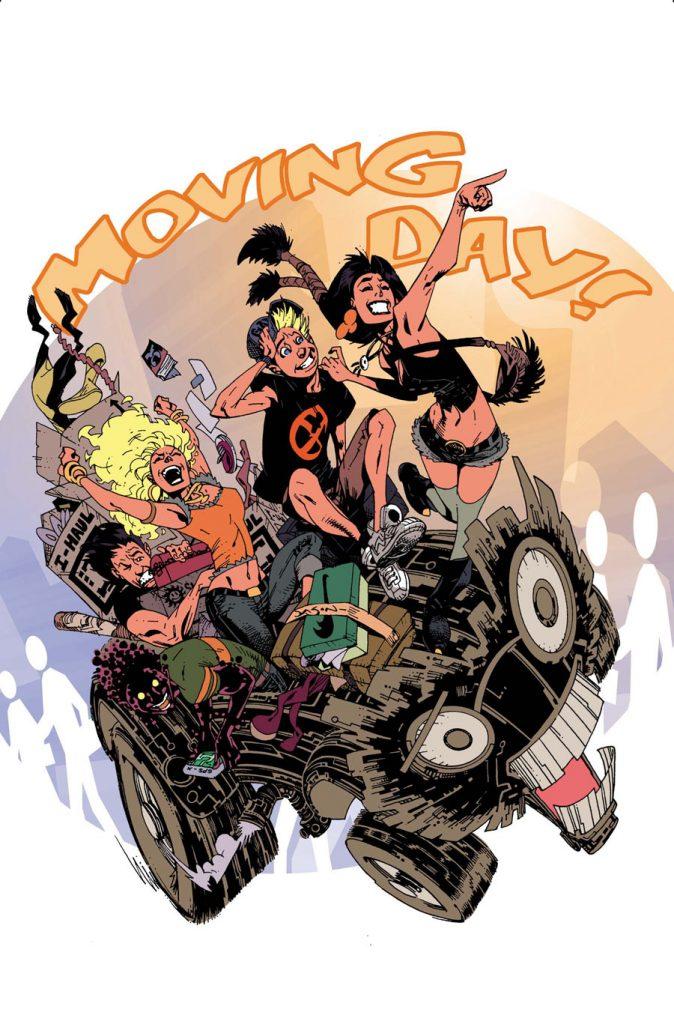 New Mutants #33 cover
