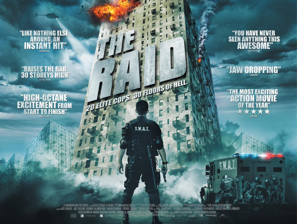 Notes On A Film: The Raid