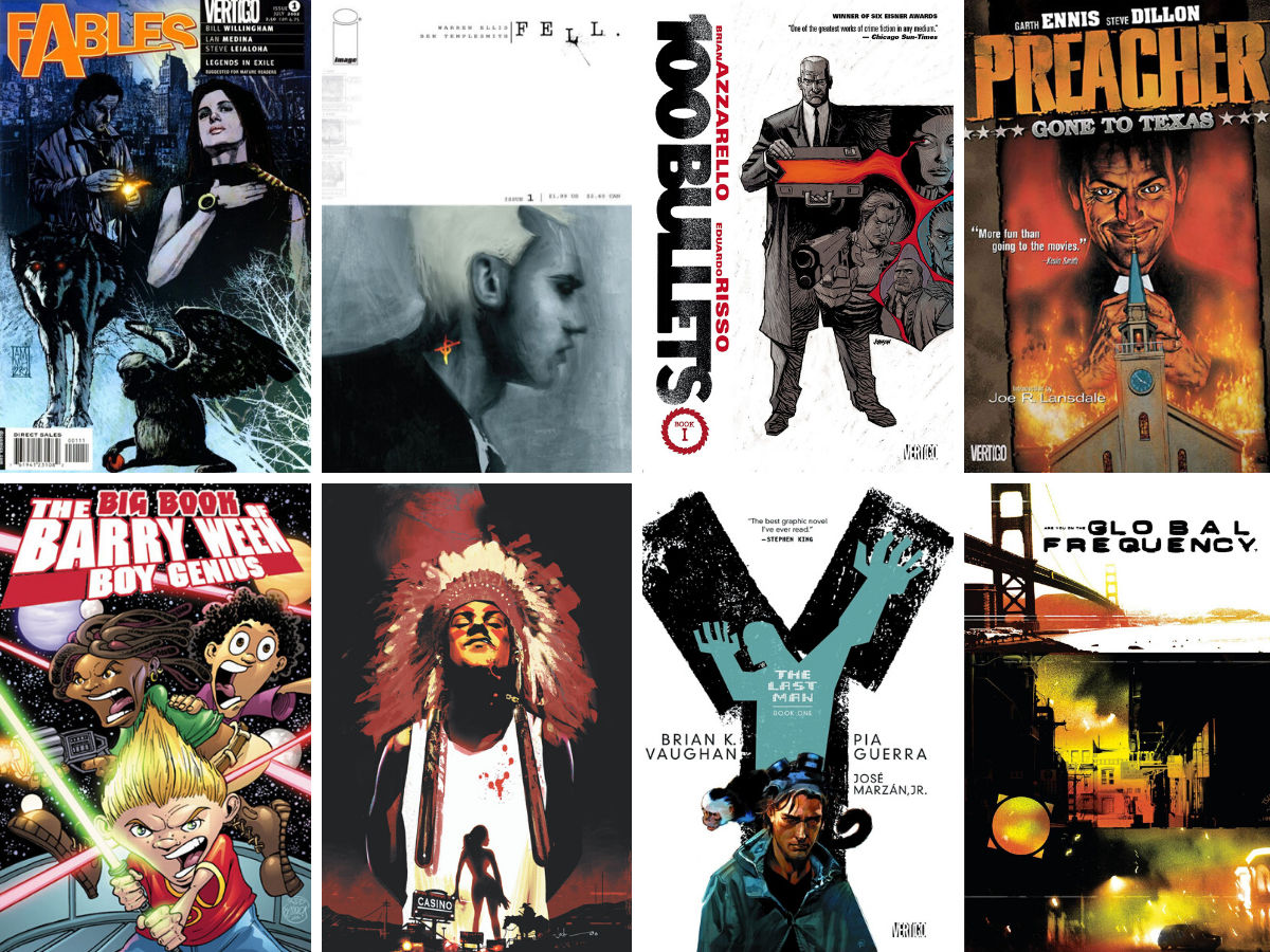 Comic Books I Want As TV