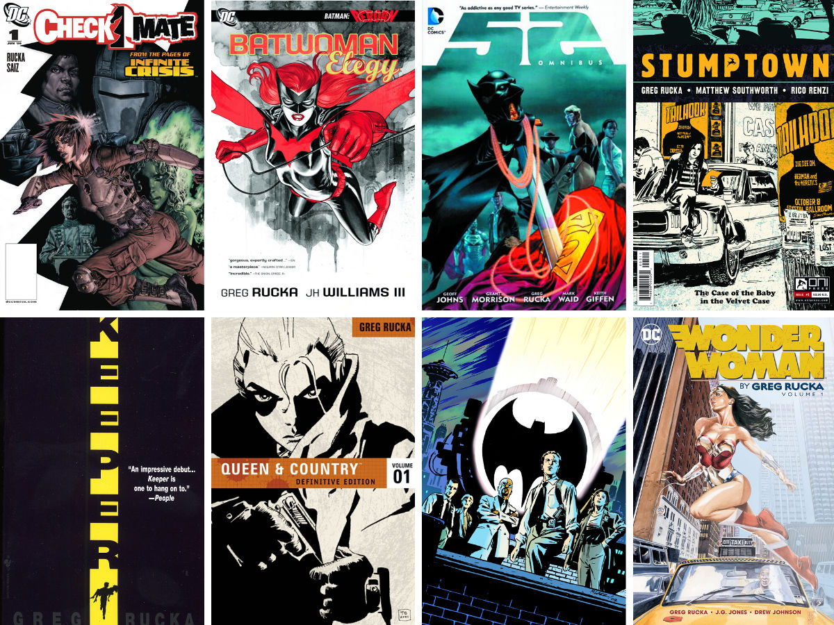 You are currently viewing Writer Top Five: Greg Rucka