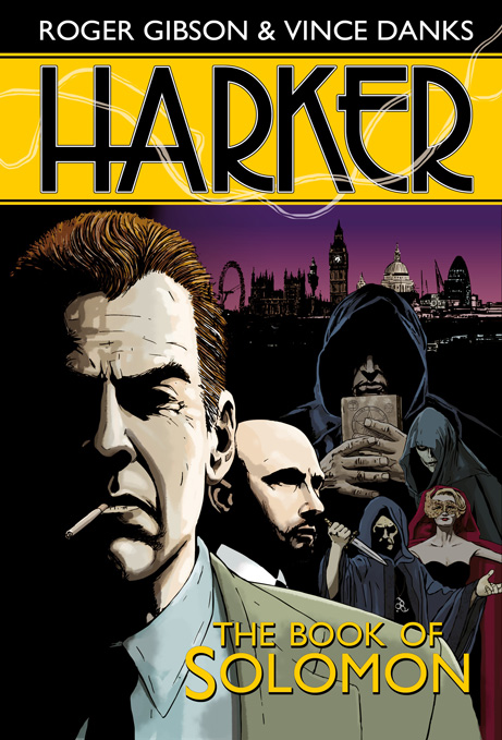 Comic Book Review – Harker: The Book Of Solomon