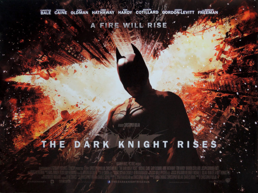 The Dark Knight Rises film poster