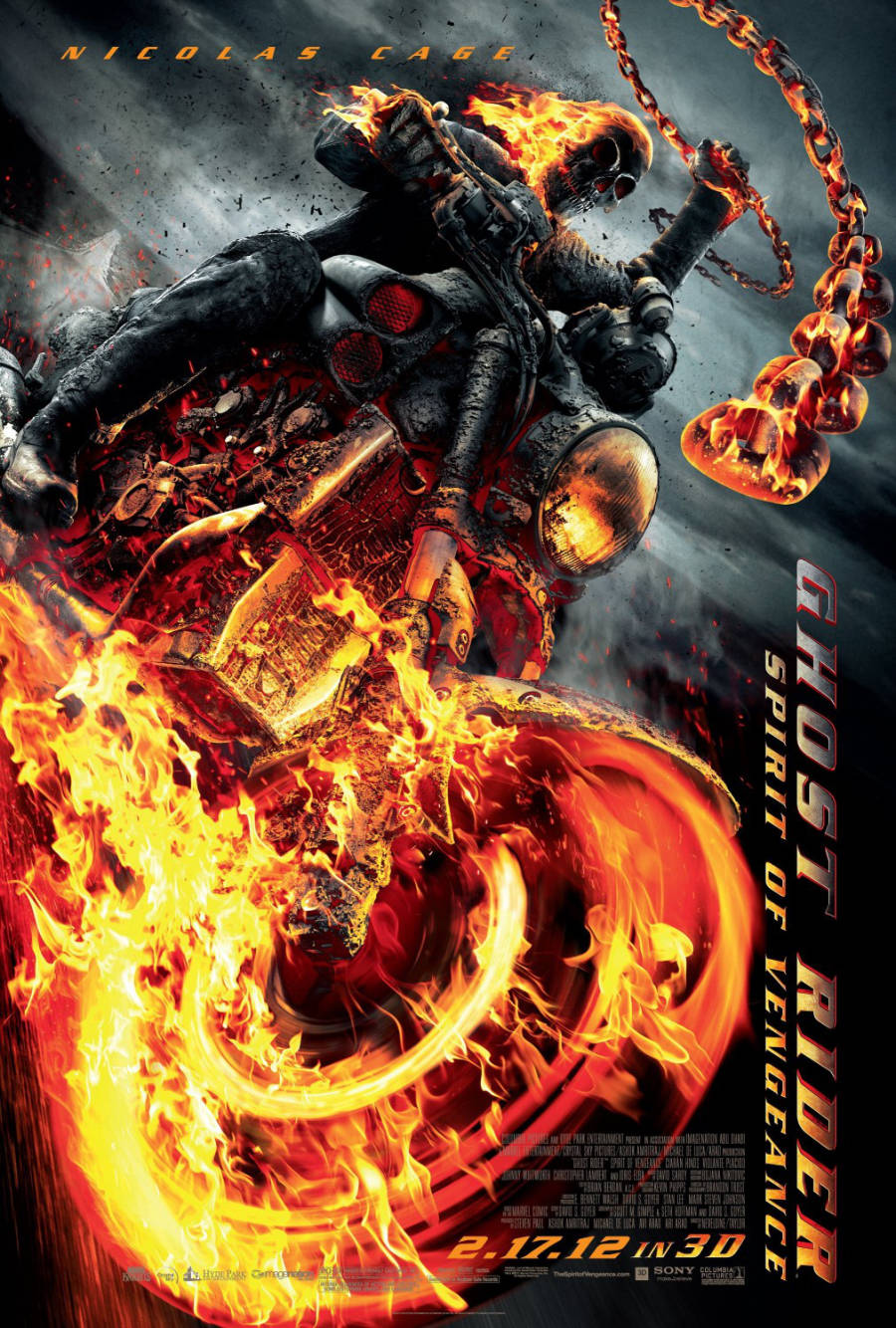 Notes On A DVD – Ghost Rider: Spirit Of Vengeance