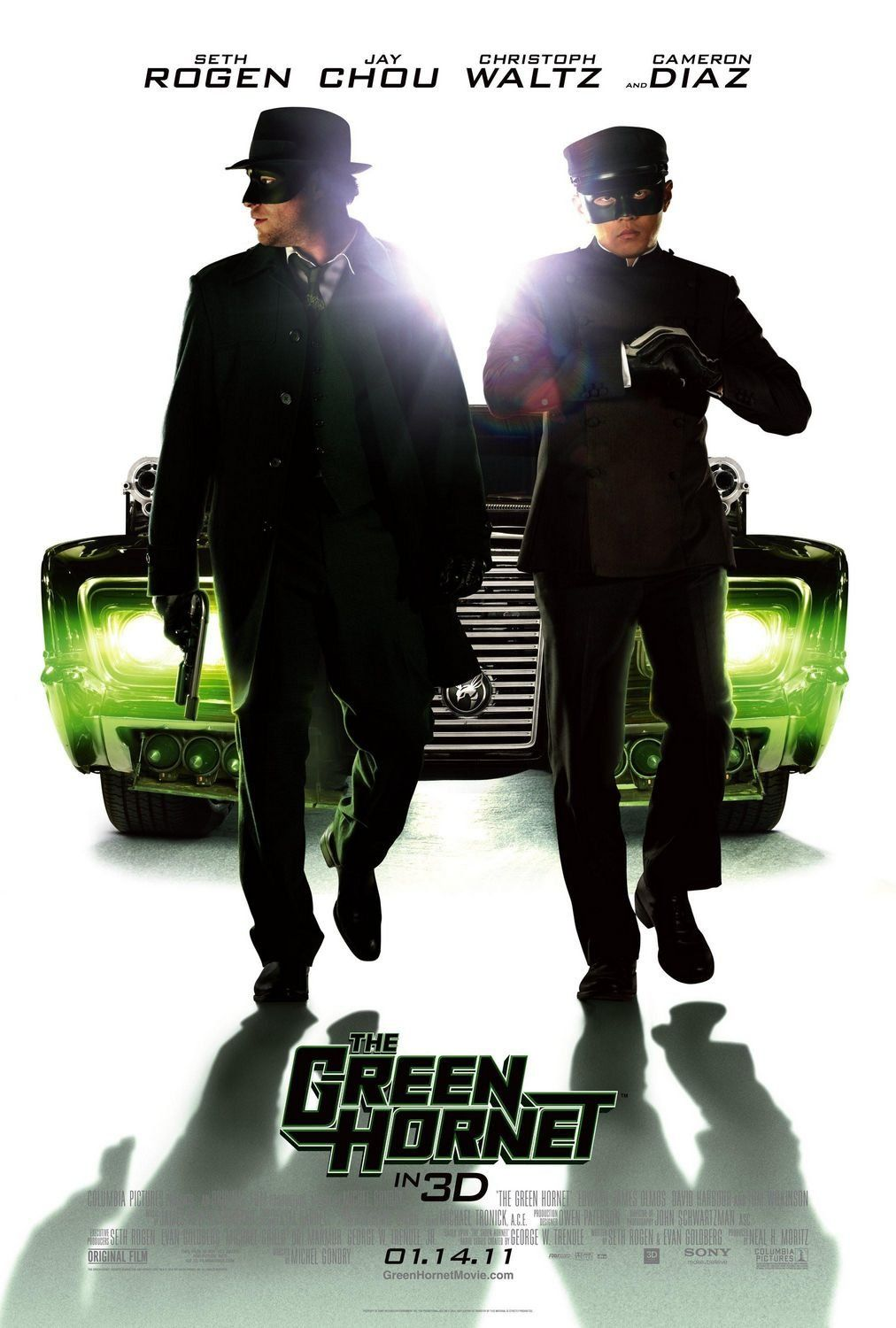 Notes On A DVD: The Green Hornet