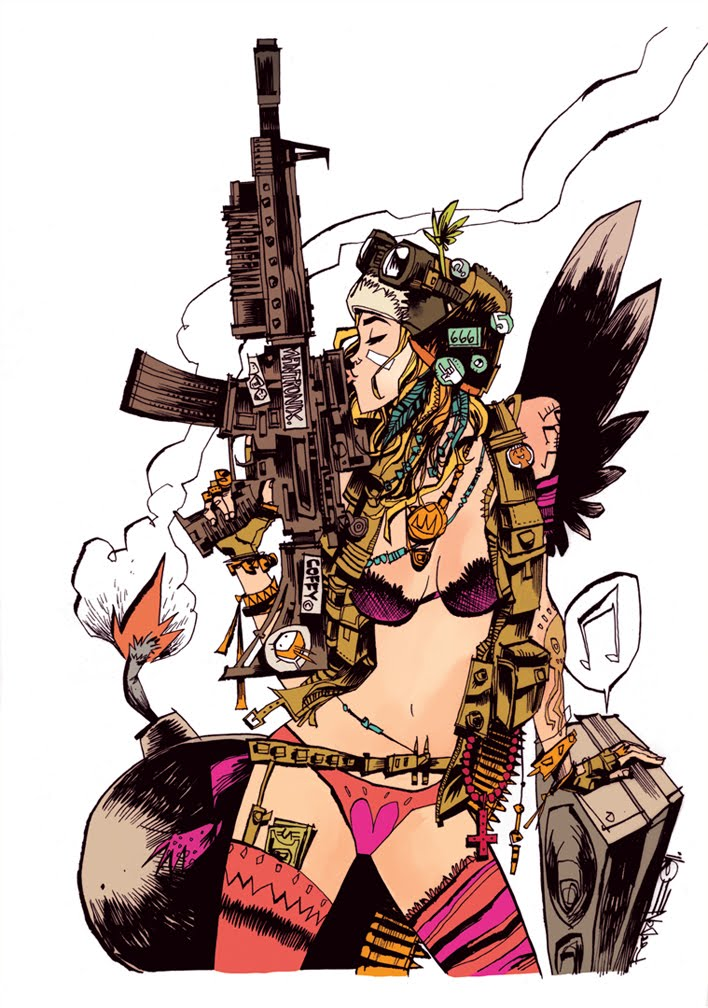 Everybody Loves Tank Girl cover