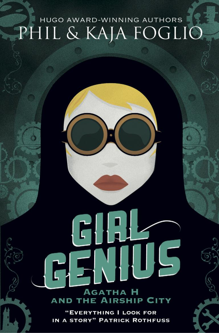 Girl Genius cover