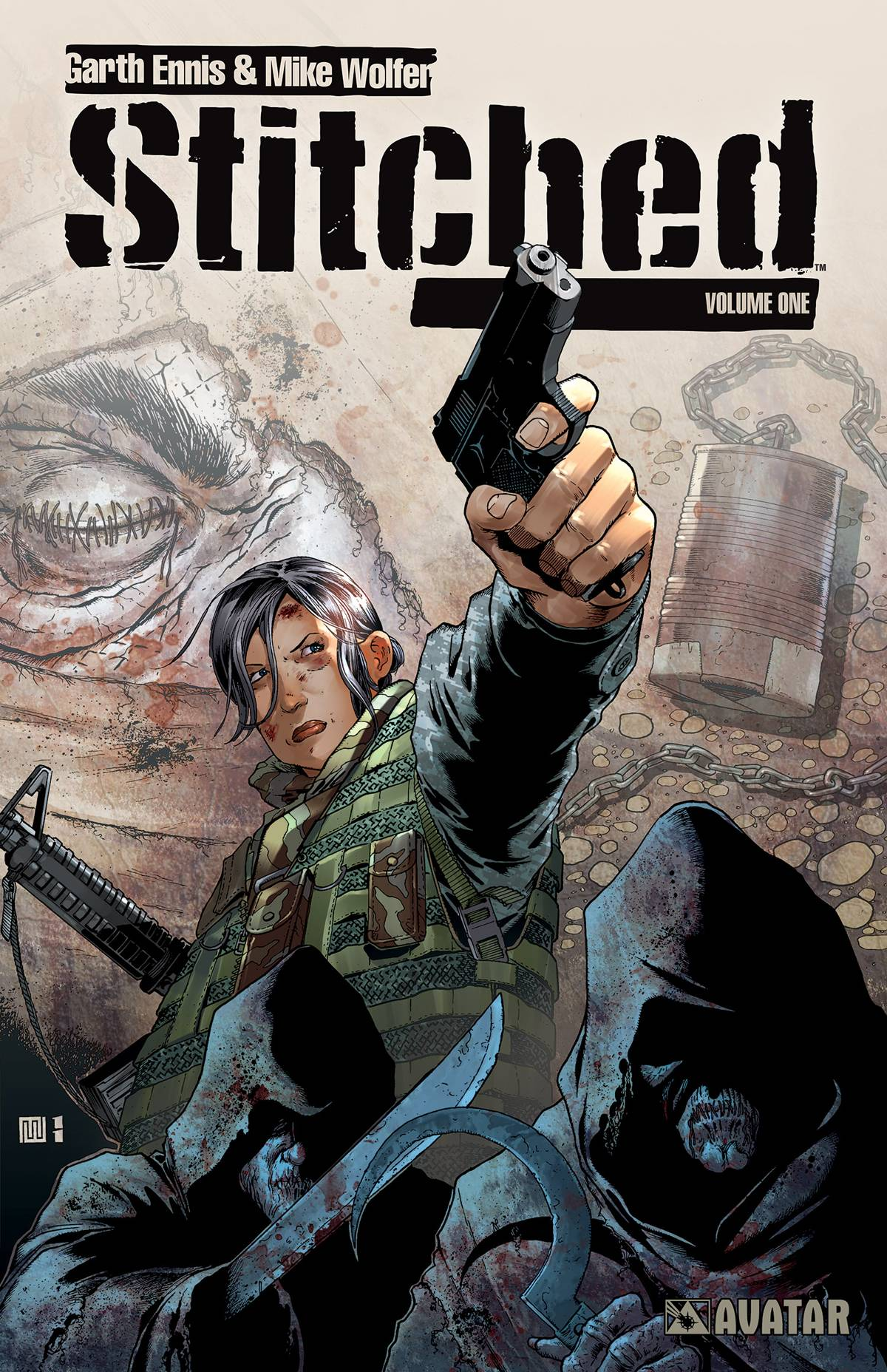 Read more about the article Comic Book Review: Stitched Volume One