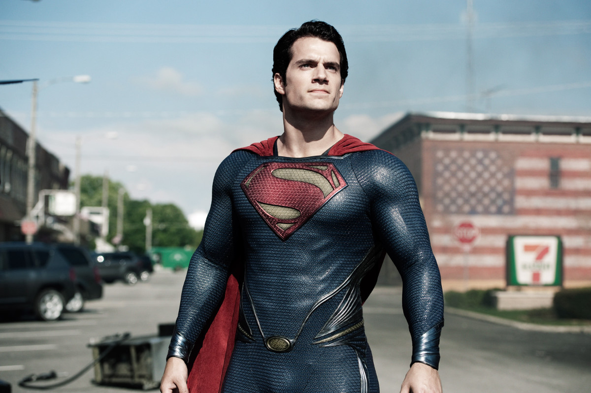 Man Of Steel visual