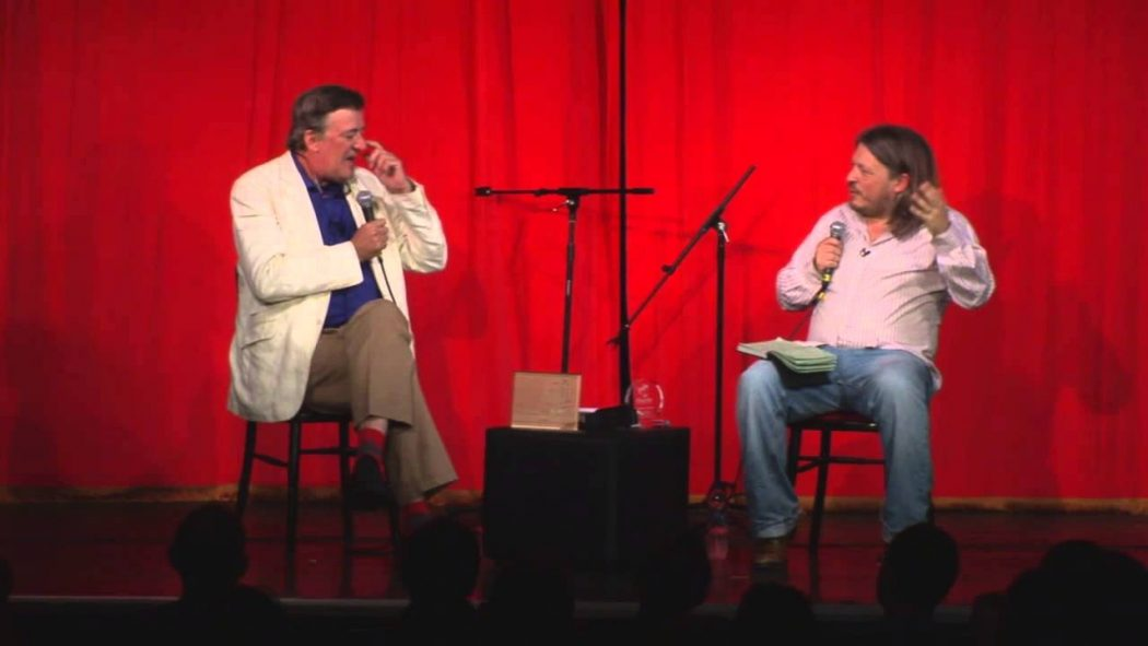 Richard Herring and Stephen Fry
