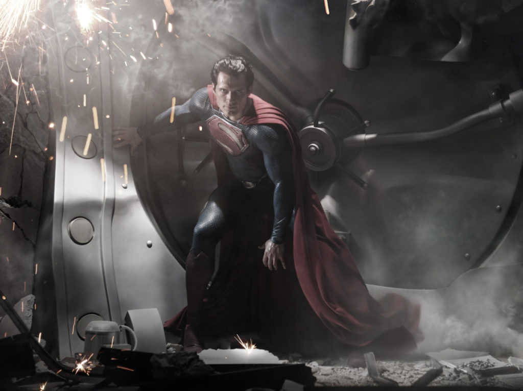 Man of Steel image with Henry Cavill as Superman