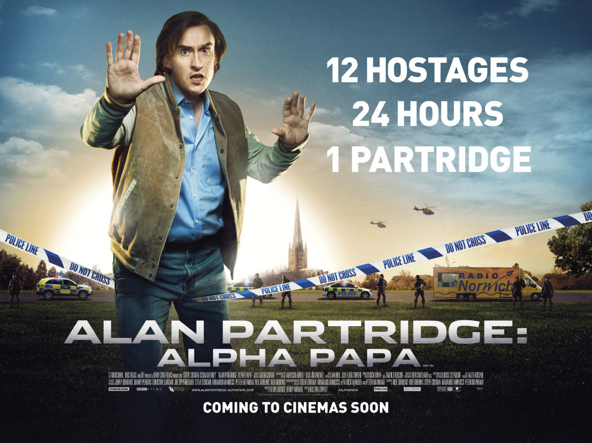 Read more about the article Notes On A Film – Alan Partridge: Alpha Papa