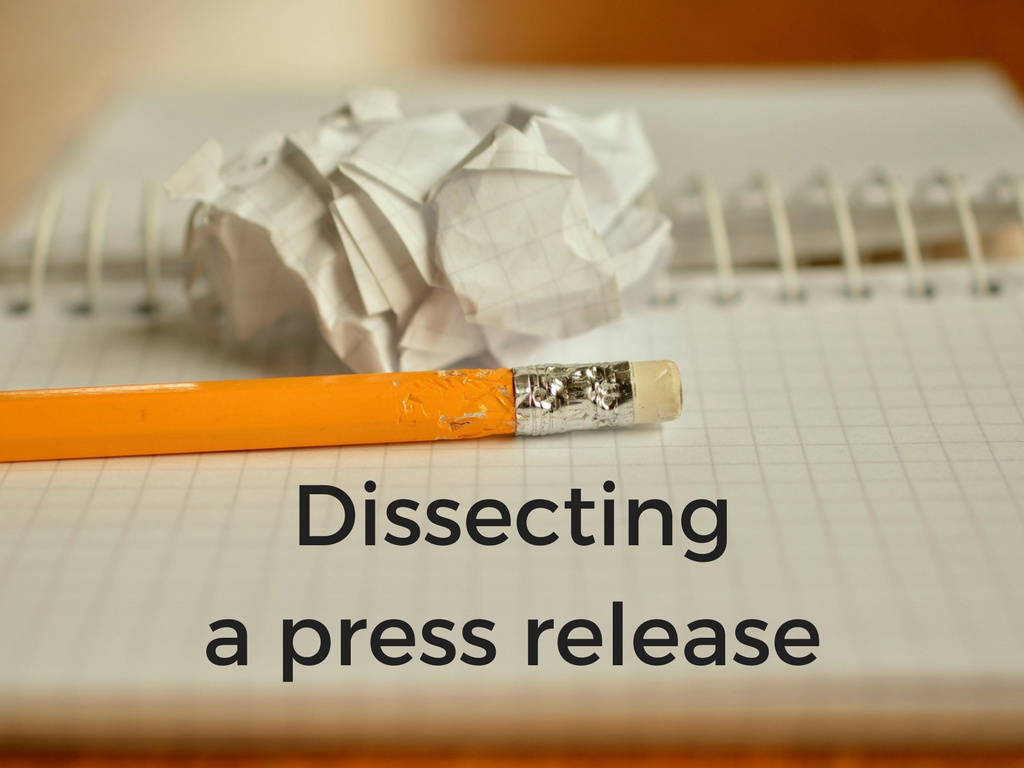Read more about the article Dissecting A Comic Book Press Release