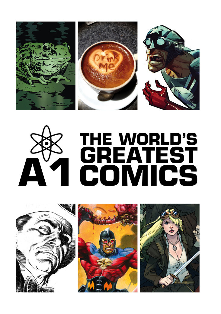 You are currently viewing Comic Book Review: A1 Annual