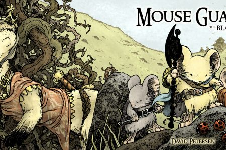 Comic Book Review – Mouse Guard: The Black Axe