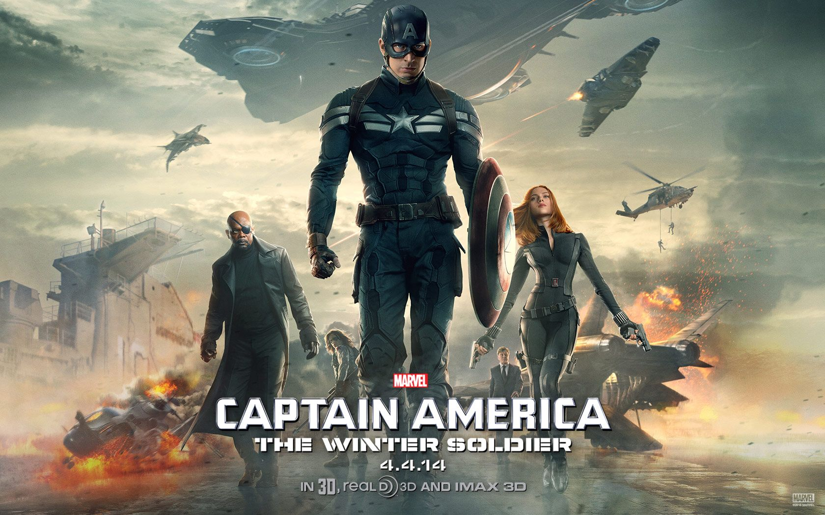 Notes On A Film – Captain America: The Winter Soldier