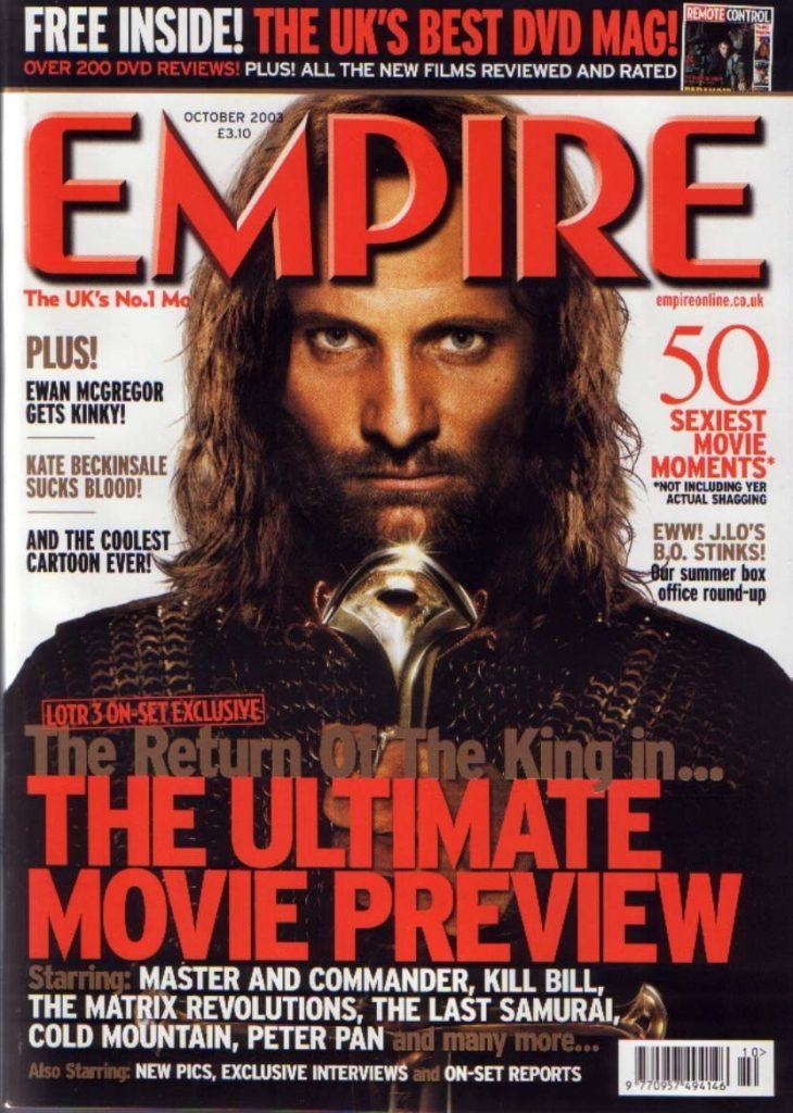 Empire Magazine October 2003