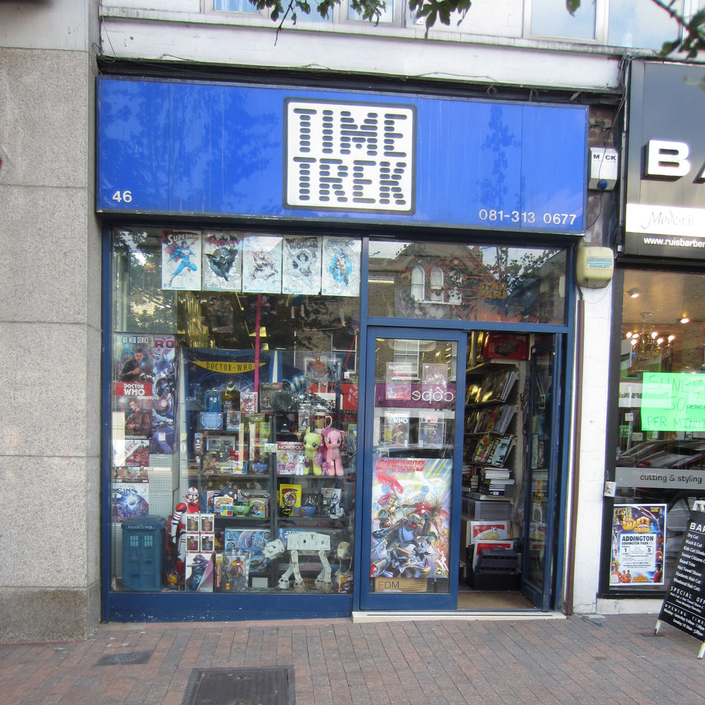 Time Trek comic book shop