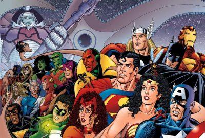 JLA/Avengers #1 cover