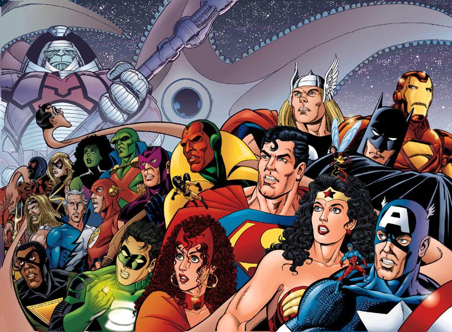 From A Library: JLA/Avengers