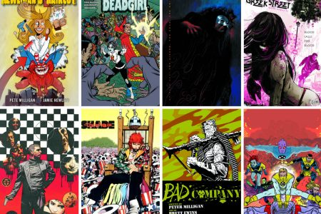 Writer Top Five: Peter Milligan